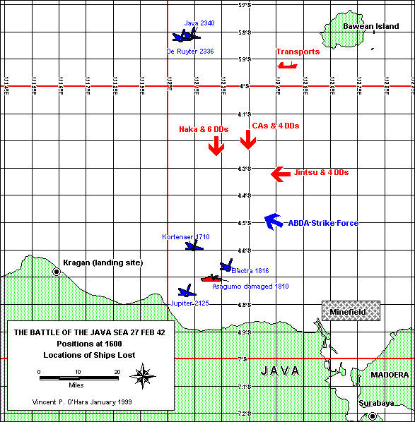 The battle of the java sea february 27 1942 by vincent p ohara by the last week of february java was the only significant dutch island remaining in allied hands to the battered and demoralized defenders publicscrutiny Images